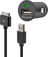 """Автомобильное зарядное устройство с кабелем для iPhone 1000 mA """"BELKIN"""""""
