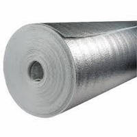 Отражающая изоляция Теплоизол 5 мм (полотно ППЕ, ламинированное металлизированной пленкой)