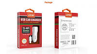 LDNIO CAR CHARGER C331 3.4A + lightning Cable