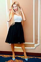 Молодежная пышная юбка. Разные цвета.