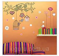 Наклейка виниловая декор на стену