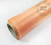 Органза темный-персик 70см