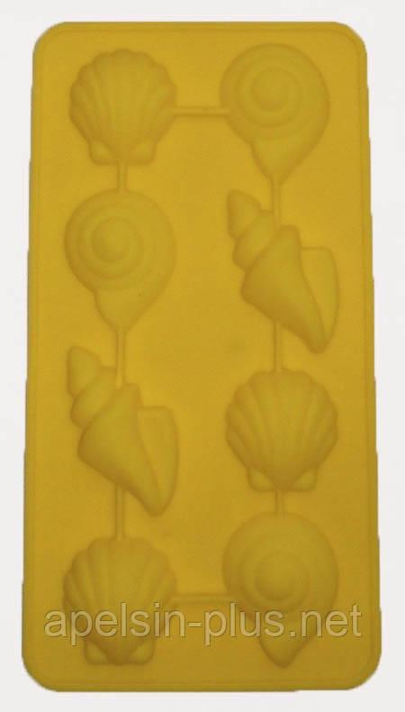 """Силиконовая форма для шоколада """"Морские ракушки из 8"""""""