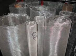 Сетка тканая нержавеющая 1.0 х 1.0 х 0.4 мм ст. 12Х18Н10Т, фото 2