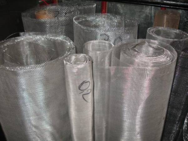 Сетка тканая нержавеющая 1.0 х 1.0 х 0.4 мм ст. 12Х18Н10Т