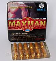 Препарат для потенции MaxMan III, 12 капсул, фото 1