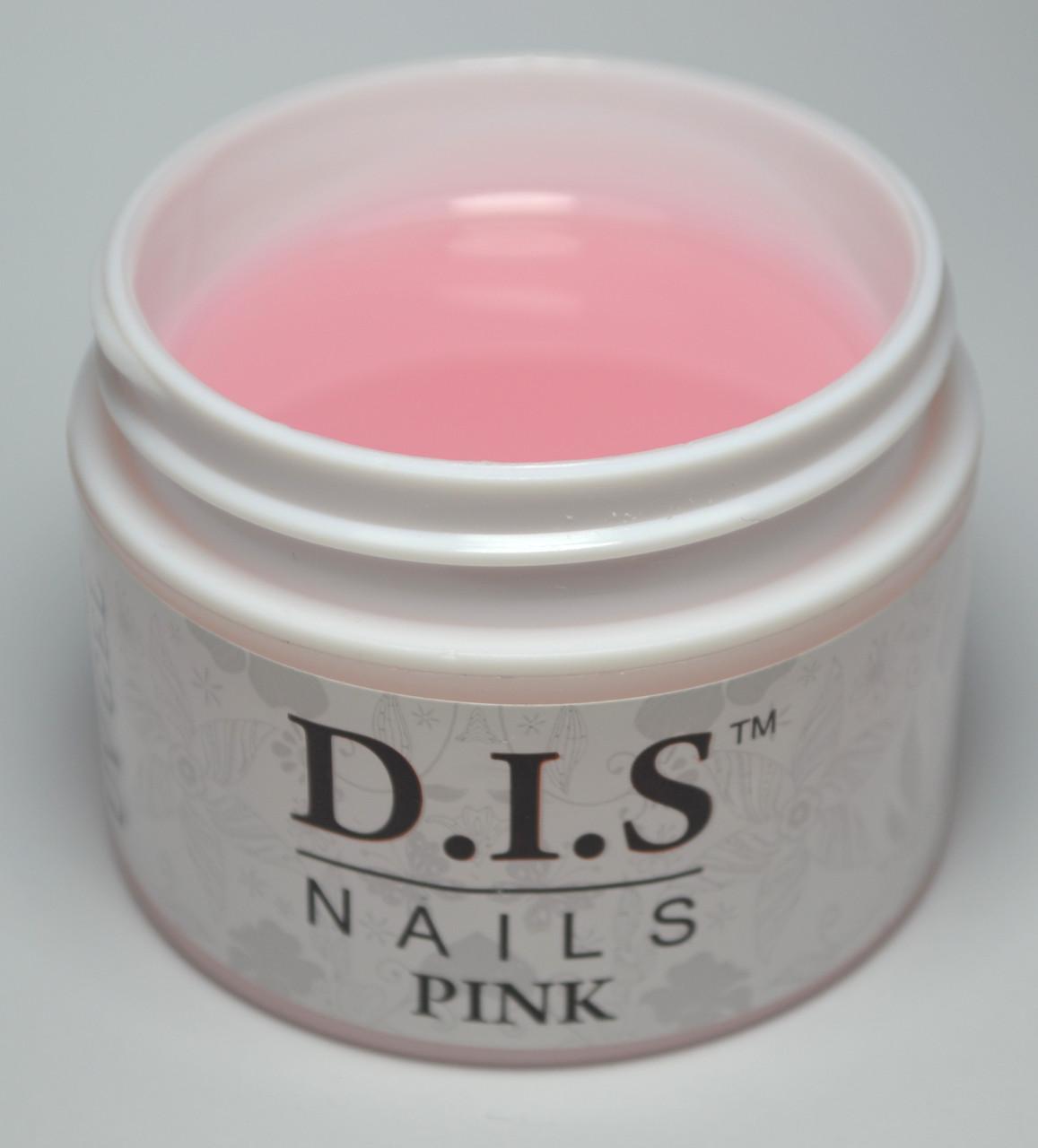 Гель DIS 1-фазный Pink (молочно-розовый)  60 г.