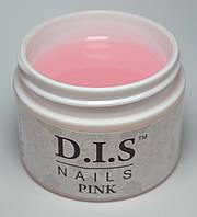 Гель DIS 1-фазный Pink (молочно-розовый)  30 г.