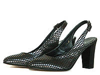 Туфли-босоножки на высоком каблуке