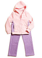 Теплый флисовый спортивный костюм для девочки
