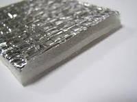 Отражающая изоляция Теплоизол 5 мм  самоклейка (полотно ППЕ, ламинированное металлизированной пленкой)