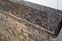 Коричневые подоконники из гранита, фото 1