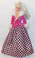 Кукла Барби коллекционная 1996 Avon Winter Rhapsody Barbie Special Edition 2nd in Series
