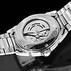 Чоловічий механічний годинник з автоподзаводом Winner, фото 2