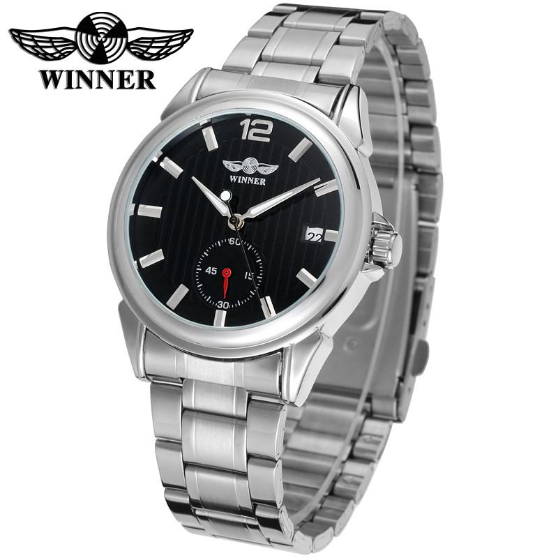 Чоловічий механічний годинник з автоподзаводом Winner