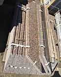 Коричневые подоконники из гранита, фото 5