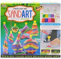 Цветной песок для творчества Sand Art 69001A, фото 1