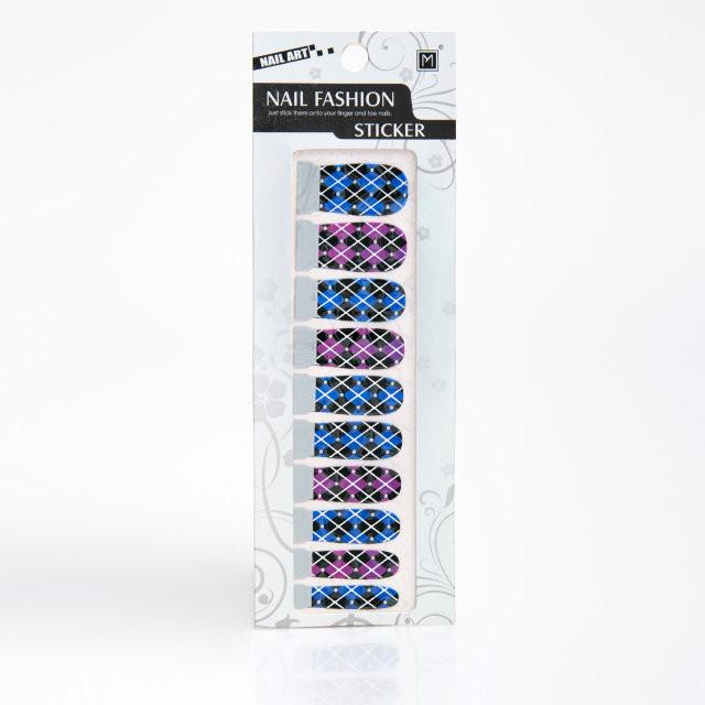 Арт стикеры для дизайна ногтей,12 шт в упаковке