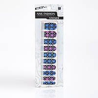 Арт стикеры для дизайна ногтей,12 шт в упаковке, фото 1