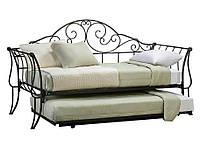 Кованый диван с дополнительным спальным местом