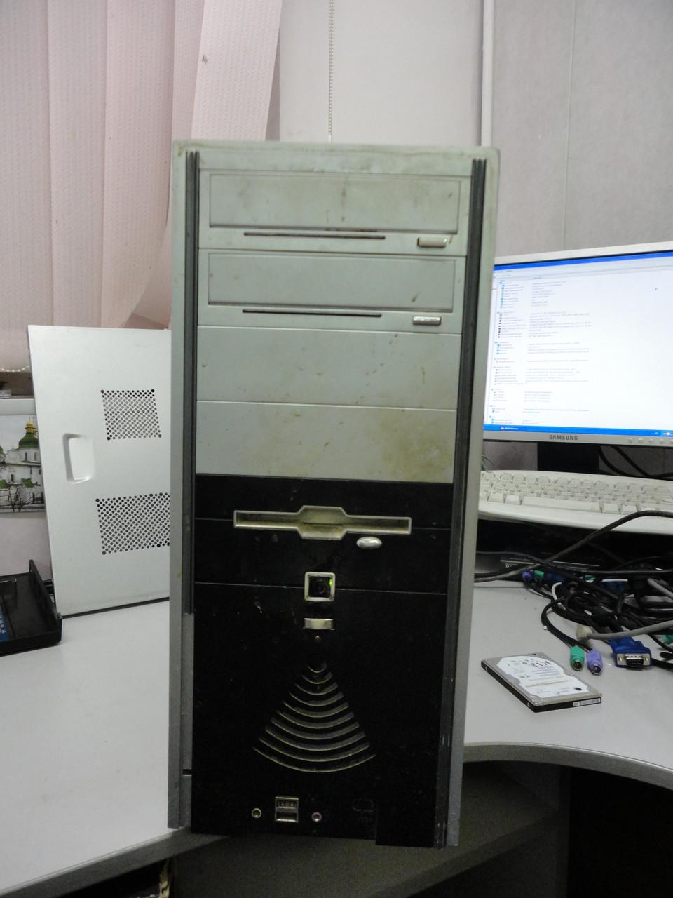 Настольный компьютер Asus P5GV-MX/Intel Celeron D 346 3GHz/160Gb/512Mb