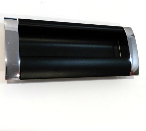 Ручка мебельная Ozkardesler 14.201-06/012 GOммE BOY KULP 192 мм Хром-Черный