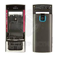Корпус для мобильного телефона Nokia X3-00, черный, high-copy