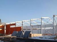 Строительство промышленных зданий из металлических каркасов