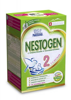 Смесь Nestle Nestogen 2 с 6 месяцев 700 гр.