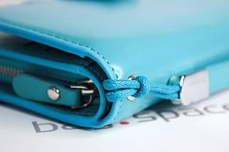 Кошелек-клатч женский Baellerry Business, голубой, фото 3