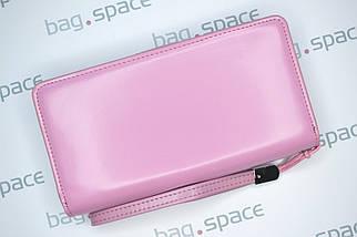 Кошелёк-клатч женский Baellerry Business, розовый, фото 2