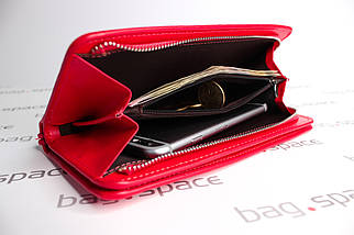 Кошелёк-клатч женский Baellerry Italia New, красный, фото 2
