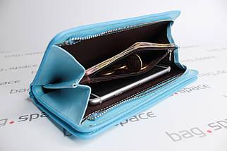 Кошелек-клатч женский Baellerry Italia New, голубой, фото 2