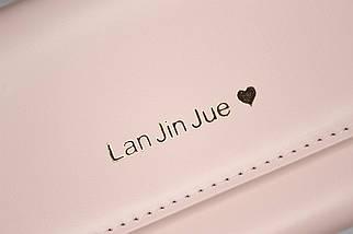 Кошелёк женский Lan Jin Jue Heart, кремовый, фото 3