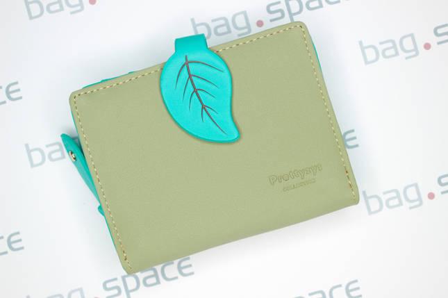 Кошелёк женский PrettyZys Leaf, зелёный, фото 2