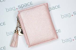 Кошелёк женский Eve Pearl, розовый, фото 2