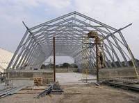 Ангары(склады зернохранилища)