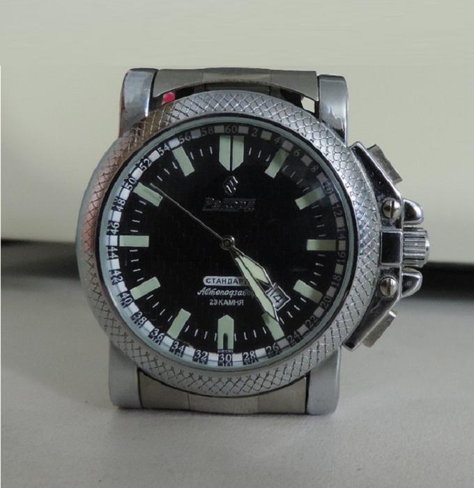 Часы Рекорд Стандарт 75-512 23 камня Автоподзавод