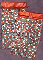 Большой подарочный мешочек из органзы (33,5см×18,5см)
