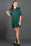 Платье Блуми  зеленый