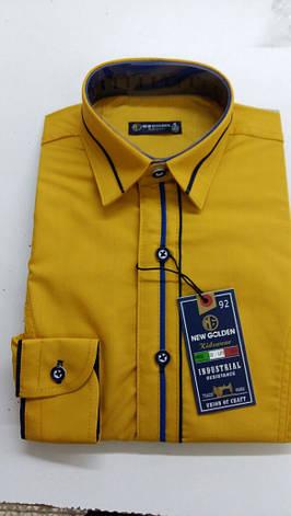 Акция!!! Детская рубашка New Golden 3-7, фото 2