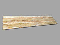 Желтый подоконник из травертина, фото 1