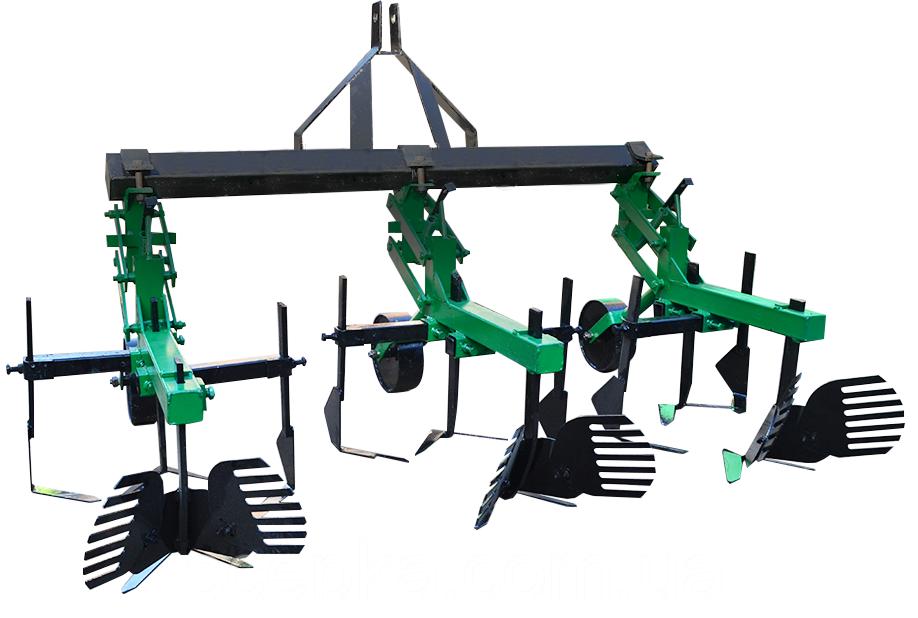 Культиватор для мінітрактора КМО-2,1 міжрядної обробки з підгортальниками