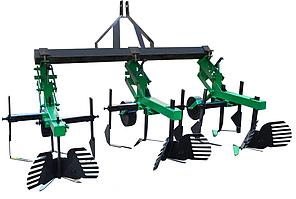 Культиватор для мінітрактора КМО-2,1 міжрядної обробки з підгортальниками, фото 2