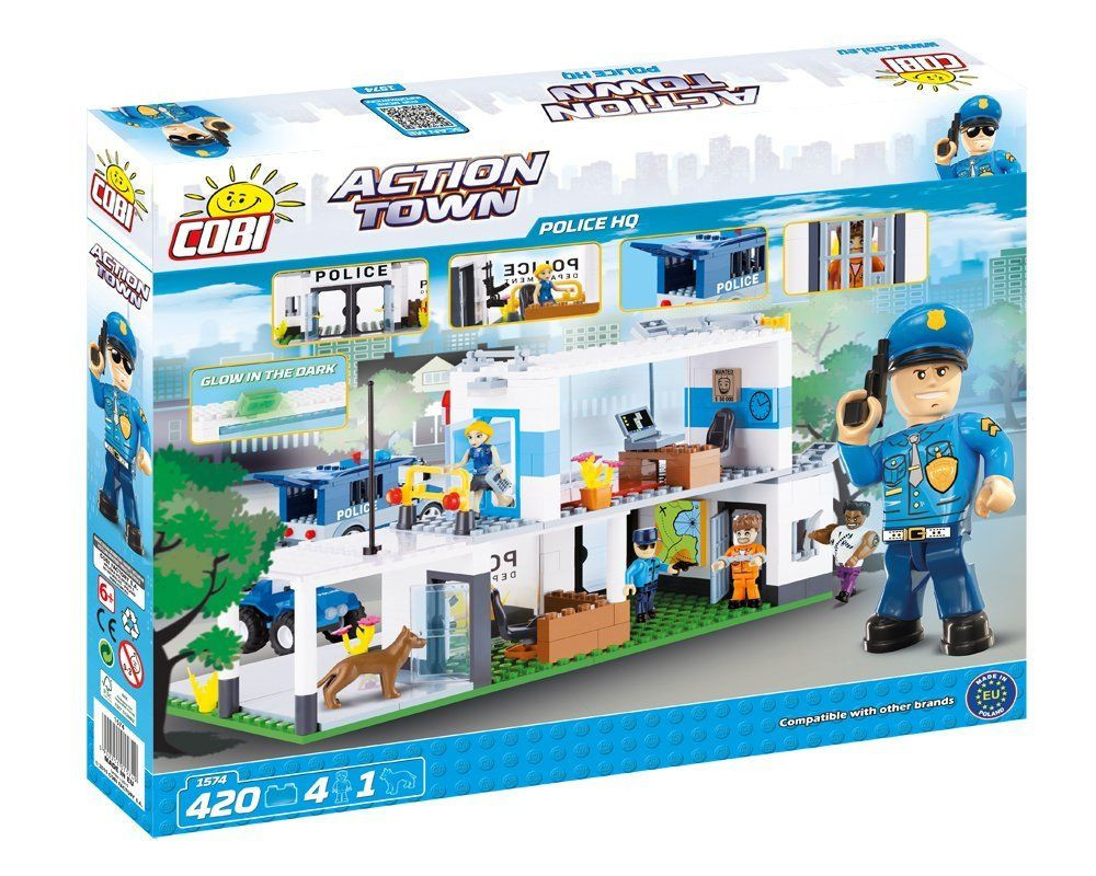 Конструктор Штаб-квартира полиции COBI серия Action Town (COBI-1574)