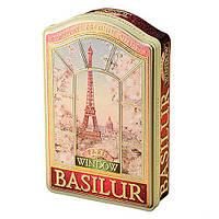 Чай зеленый Basilur коллекция Окна Париж 100г