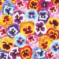 """Декупажная салфетка """"Фоновые виолы"""", 33*33 см, 18 г/м2, Maki, SLWI002601, 002601"""