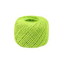 Шнур джутовый яблочно-зеленый