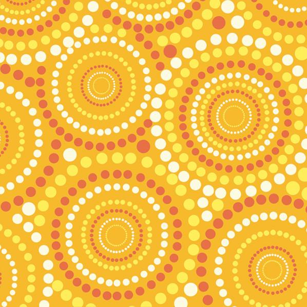 "Декупажная салфетка ""Желтый орнамент"", 33*33 см, 18 г/м2, Maki, SLOG014102, 535059"
