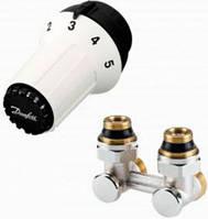 Комплект  радиаторных терморегуляторов RAS C  Danfos для нижнего подключения